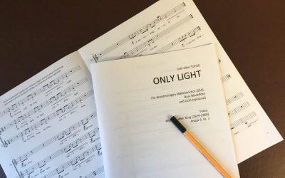 Only Light – eine Komposition für den CANTA!-Mädchenchor der GEMEINNÜTZIGEN