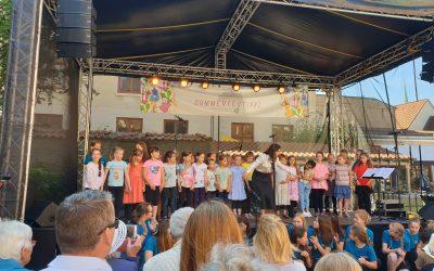Sommerfestival der Lübecker Musikschule am Rosengarten